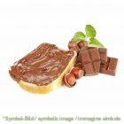 Nougat / gianduia - Dose 6 kg - Klassische Eispasten Milcheispasten