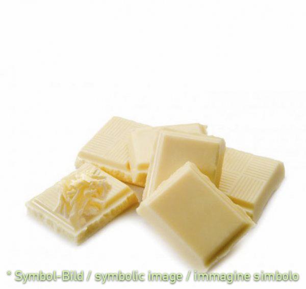 Schokolade,  weiß / cioccolata bianca - Dose 2,5 kg - Klassische Eispasten Milcheispasten