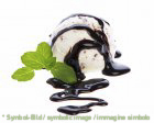 Stracciatella II Kakaofettglasur / copertura II cioccolata - Flasche 1 kg - Milcheispasten & Sosse Kakaohaltige Paste zum Garnieren