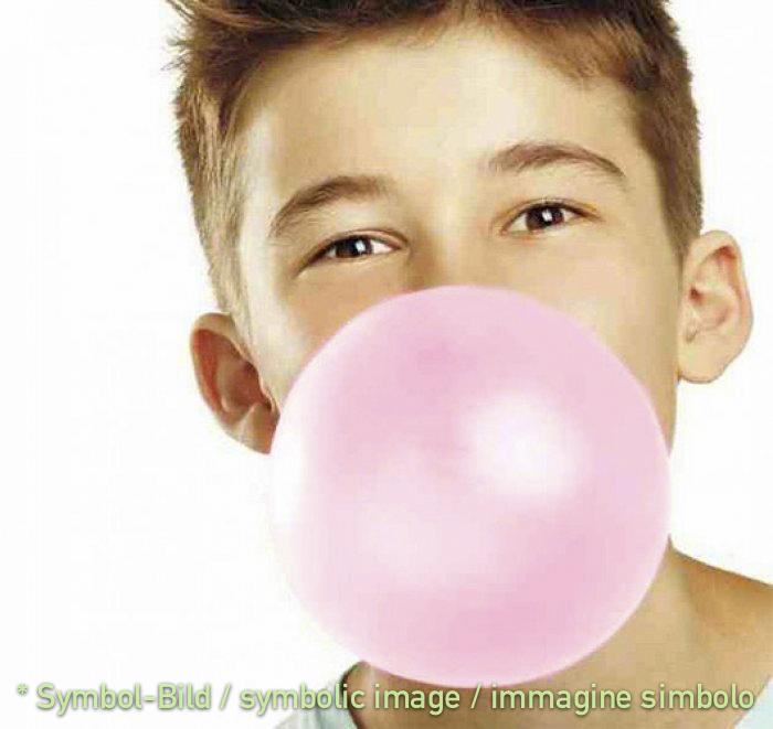 Kaugummi, rosa / chewing gum, rosa - Dose 3 kg - Kinder Eispasten