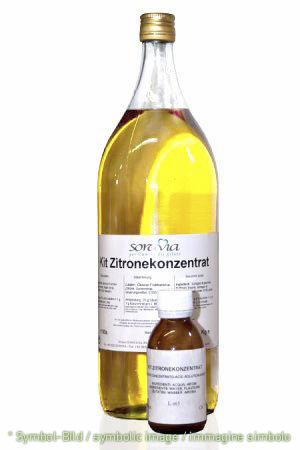 Zitrone Plus (Lösung plus Konzentrat) - Flasche 2,7 kg+77g