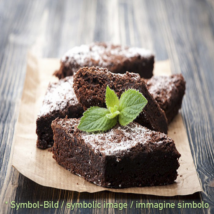 Dark Chocolate - Brownies - Beutel 2 kg - Eispulver Speiseeispulver