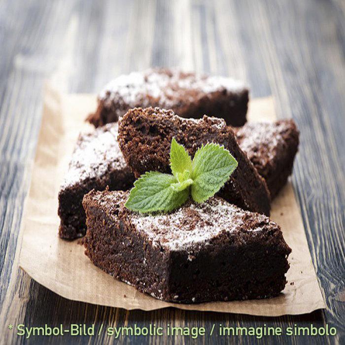 Dark Chocolate - Brownies - Beutel 2 kg - Eispulver Speiseeispulver