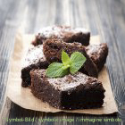 Dark Chocolate Brownies - bag 2 kg - Ice cream Powder - in polvere