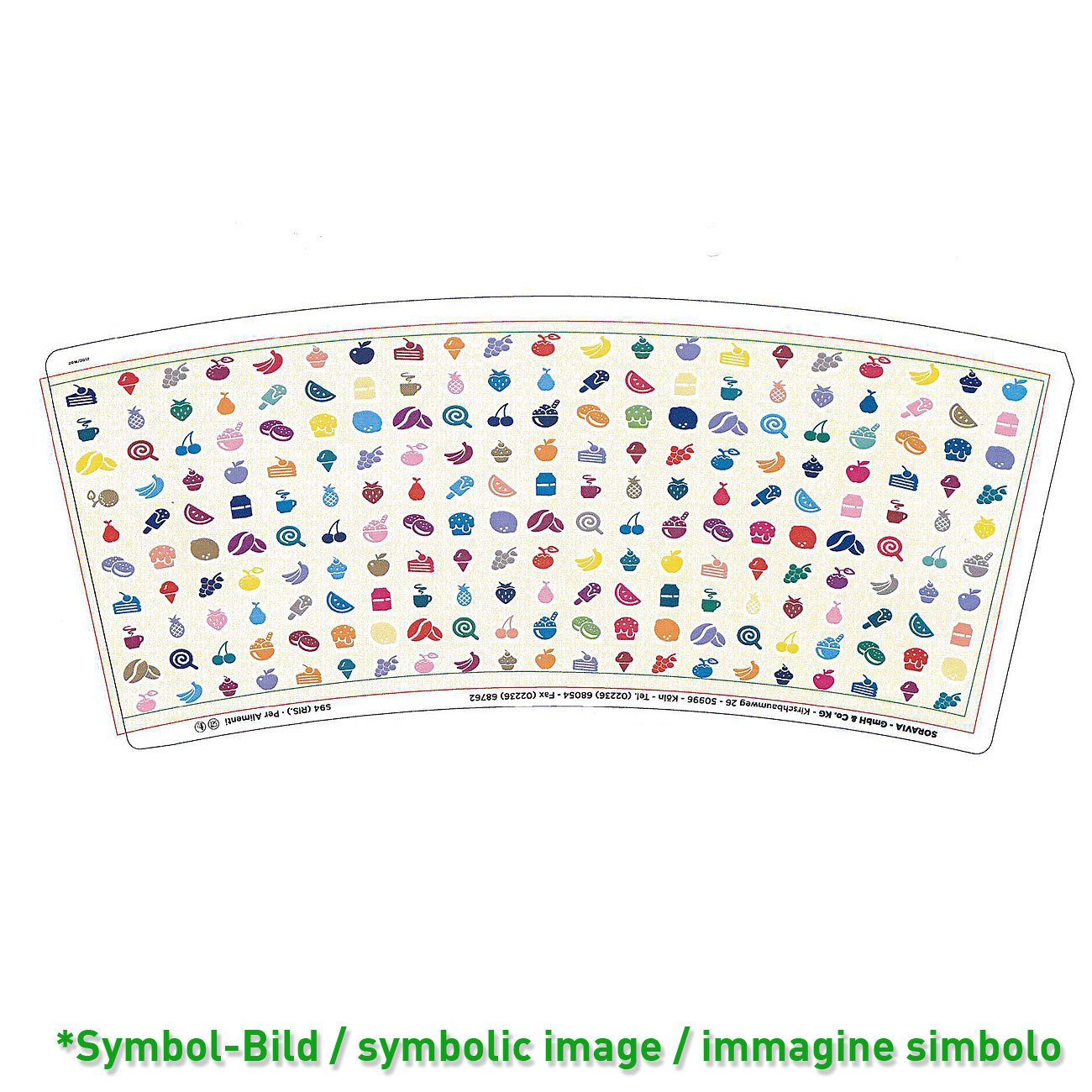 Ice cream cup Typ 750 - box 570 pieces - Ice cup paper