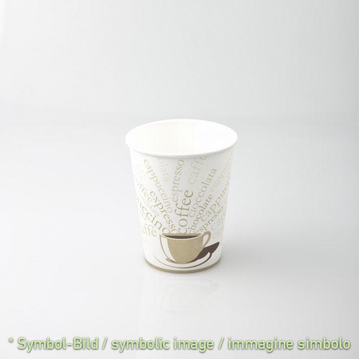 Kaffeebecher DOUBEL WALL / 275 ml - 9 OZ - Karton 1.000 Stück