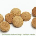 Amaretto - Mehl, fein  / polvere d'amaretto - Karton 4 kg - Eisbecher Dekor Garnier Artikel