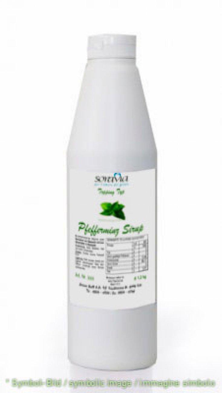 Pfefferminz Sirup / Sciroppo di Menta - Flasche 1,2 kg - Sirup Topping