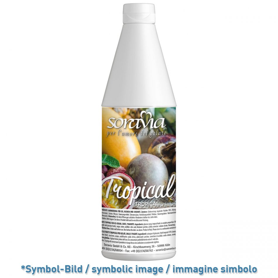 Tropical / Tropicale - Flasche 1,2 kg - Eisflips Toppings