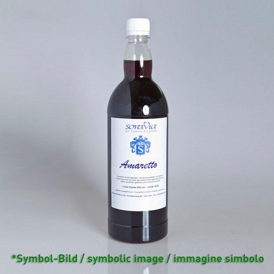 Amaretto 25Vol%  - Flasche 1 Liter - Likör Eisliköre