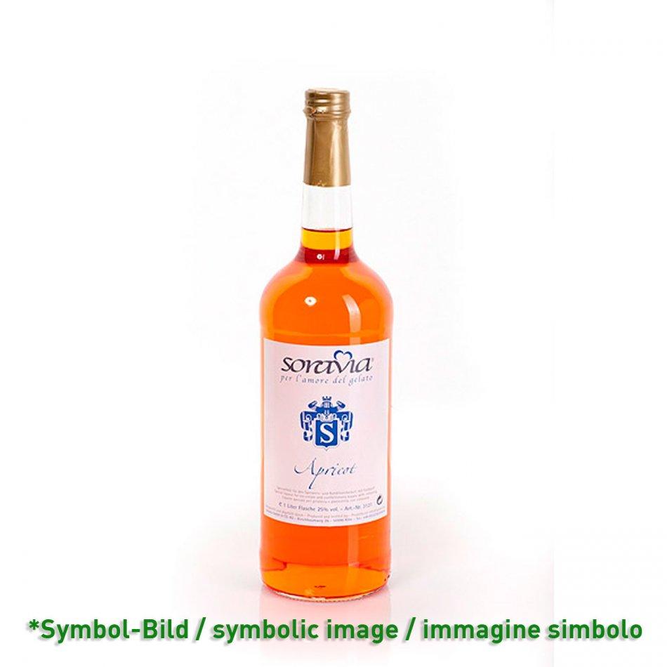 Aprikose 25Vol% - Flasche 1 Liter - Likör Eisliköre