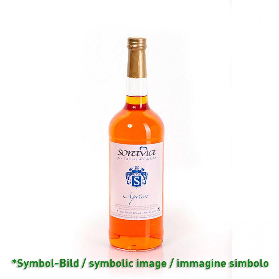apricot 25Vol% / albicocca - bottle 1 Liter
