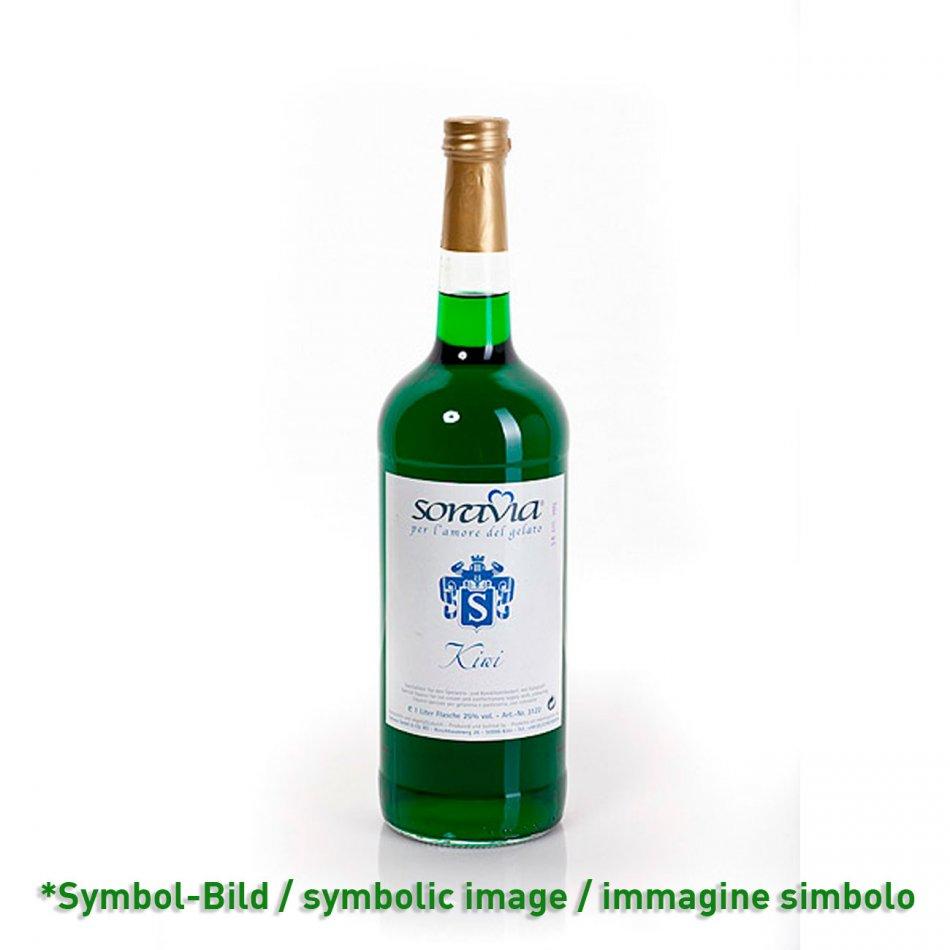 Kiwi 26Vol% - Flasche 1 Liter - Likör Eisliköre