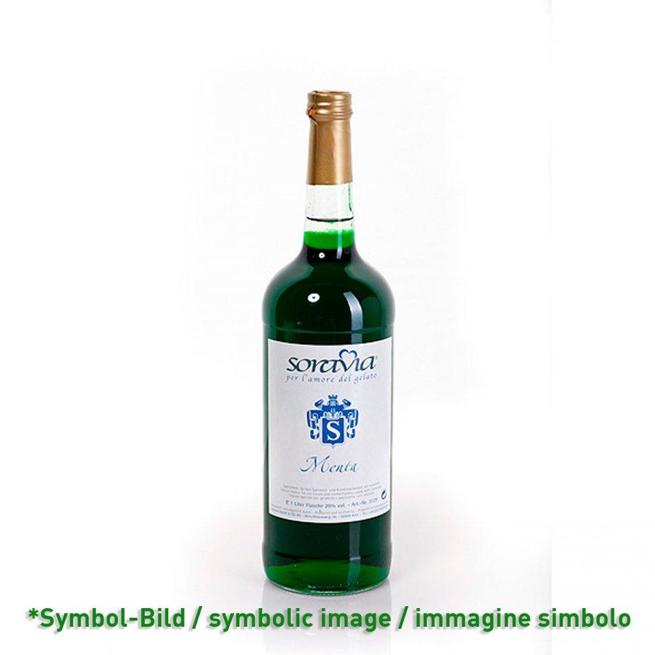peppermint 20Vol% / menta - bottle 1 Liter