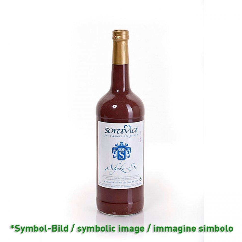 Schoko Ei 14Vol% - Flasche 1 Liter - Likör Eisliköre