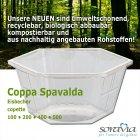 Coppa Spavalda 100, bunt gemischt / multicolore  - Karton 2.500 Stück -  Eisbecher aus Plastik