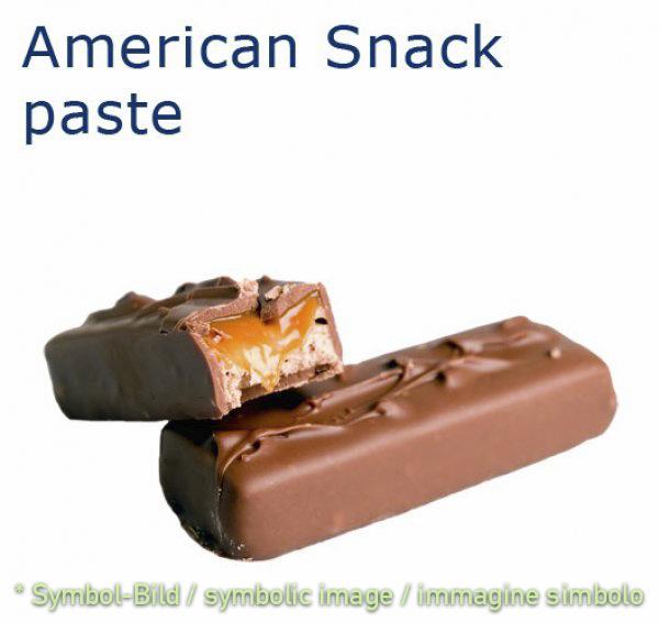 American Snack Paste - Dose 3,25 kg - Klassische Eispasten Milcheispasten