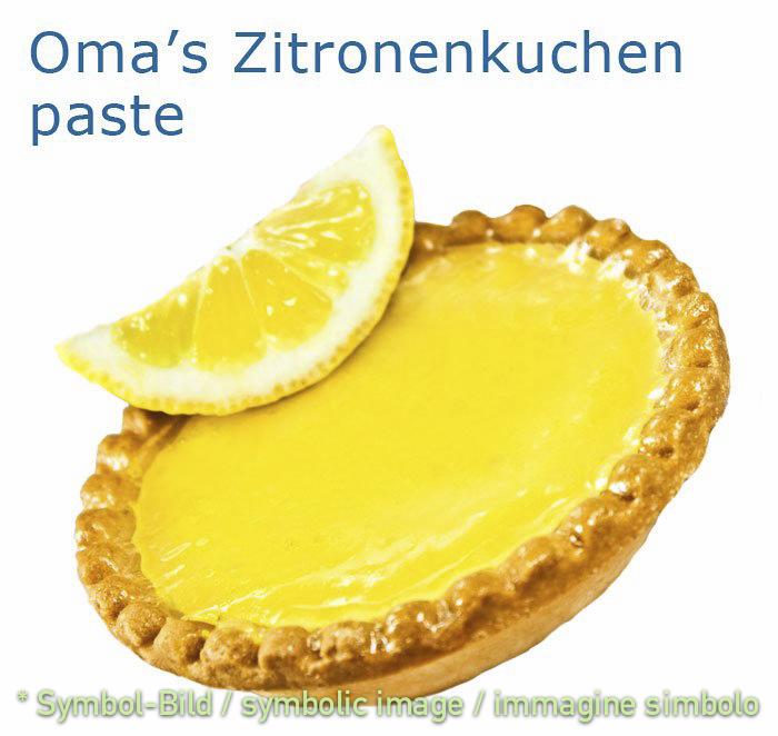 Zitronenkuchen - Dose 3,25 kg - Klassische Eispasten