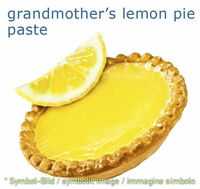 lemon pie - tin 3,25 kg - Classic ice cream paste