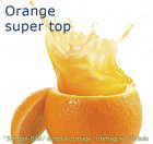 Orange / arancia - Flasche 1 kg - Super Top Marmorierer