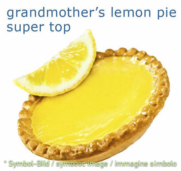 grandmothers lemon pie - tin 3 kg - Super Top Variegates