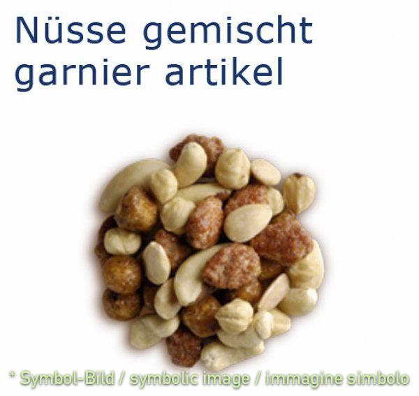 Mandel- Nussvariation / variazione di mandorle e noce - Beutel 1 kg - Eisbecher Dekor Garnier Artikel