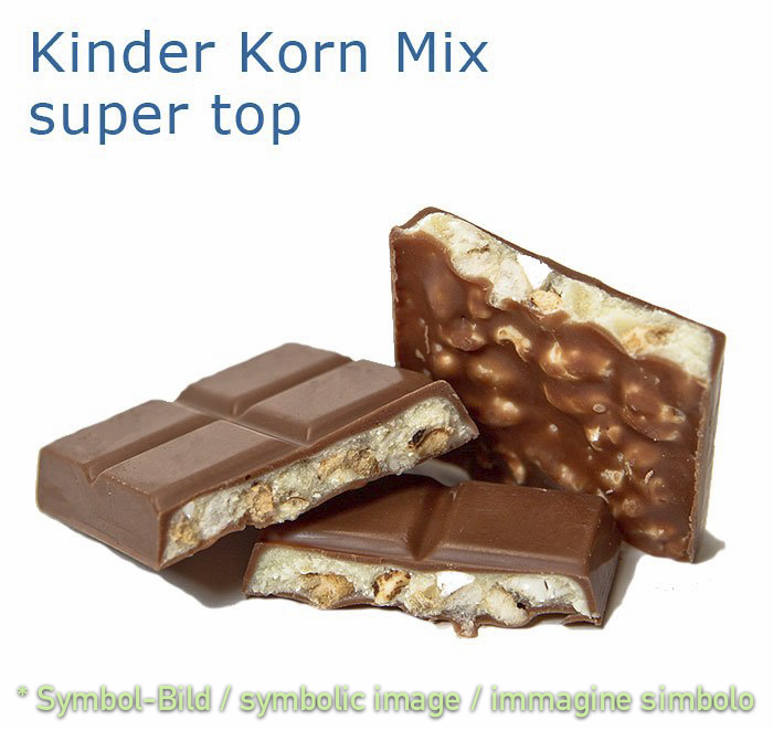 Kinder Korn Mix - Dose 2,6 kg - Super Top Marmorierer