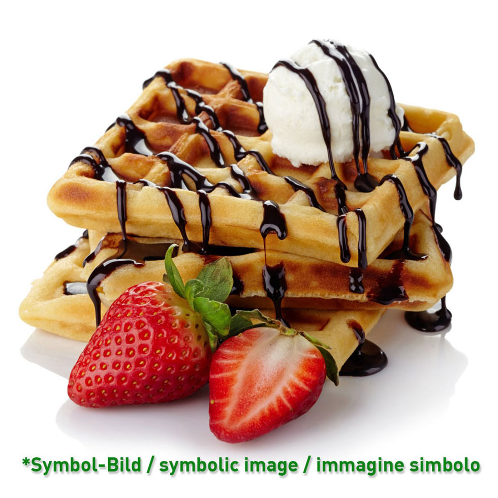 waffle baking mix / micela per wafer - bag 5 kg