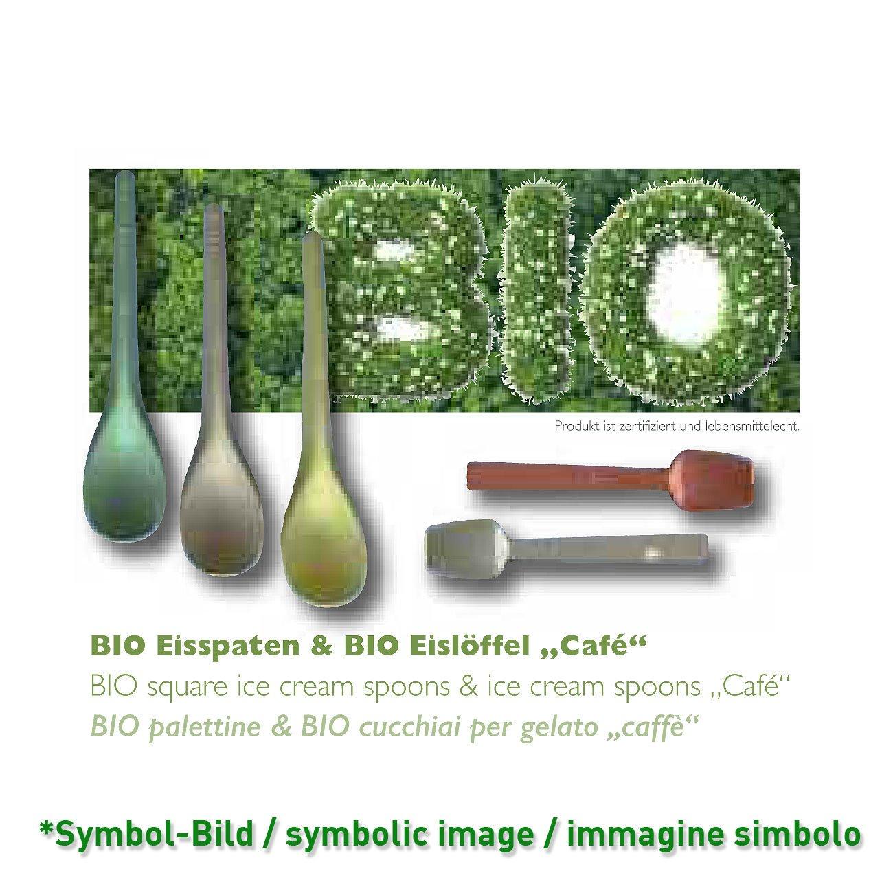 Eisspaten Bio / palettine, lunghe - 10,00 cm - Karton 10 kg