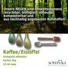 Bio Kaffeelöffel - 12,00 cm - Karton 5,00 kg