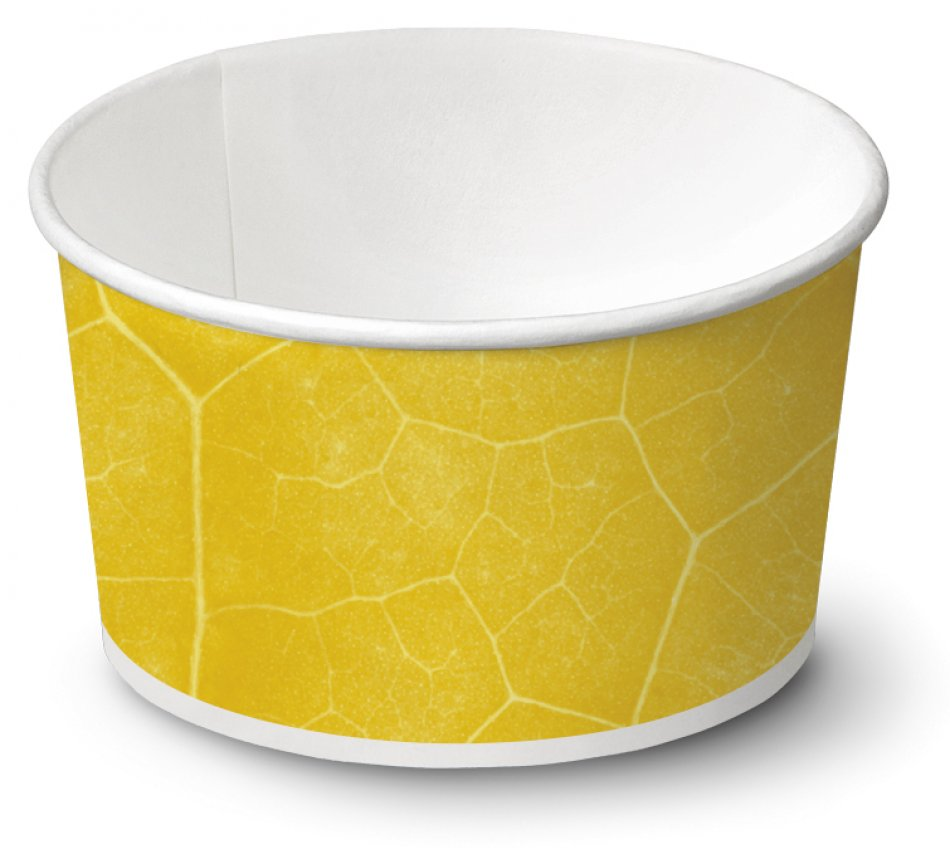 biodegradable Ice cream cup / Typ 130 / 2010 pieces - Ice cup bio paper