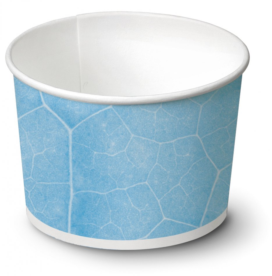 biodegradable Ice cream cup / Typ 250 / 960 pieces - Ice cup biodegradable paper