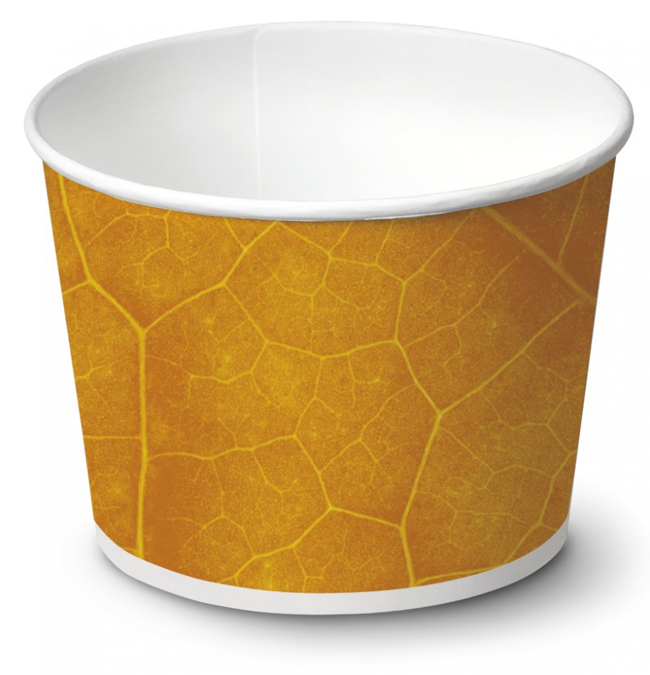 biodegradable Ice cream cup / Typ 450 / 1140 pieces - Ice cup biodegradable paper