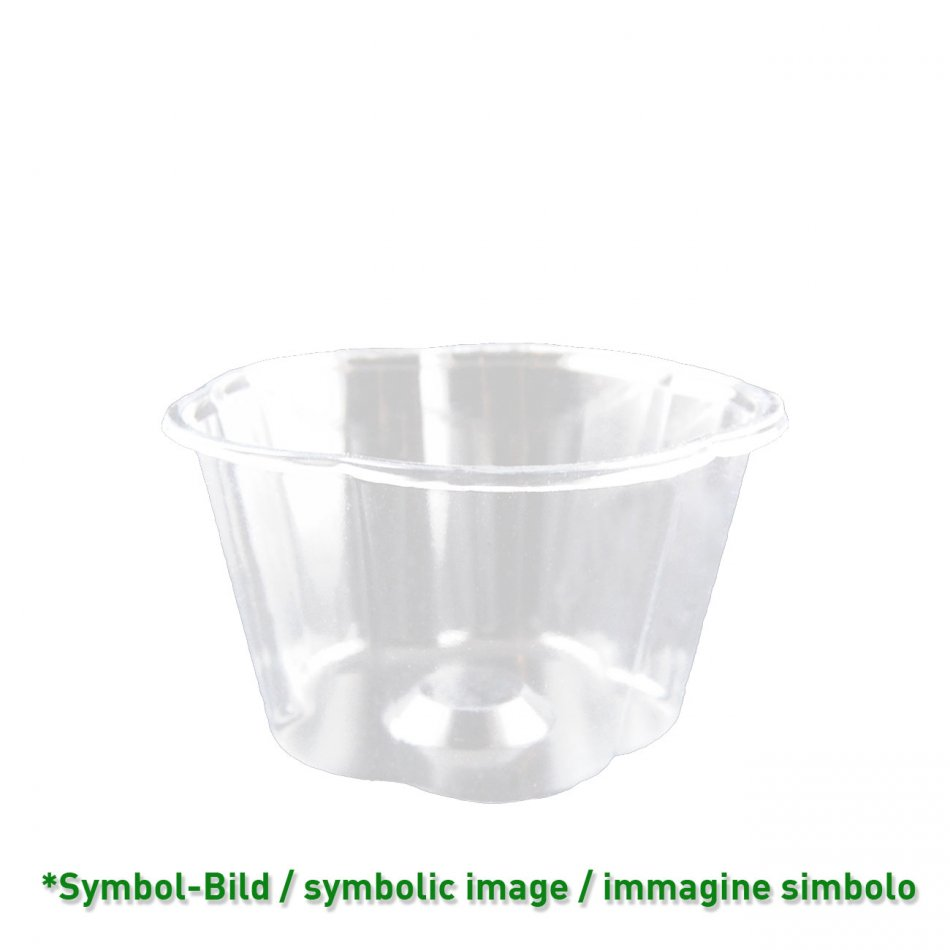 Flower Cup 350 - biodegradable Ice cream cup PLA  / 350ccm / 800 pieces
