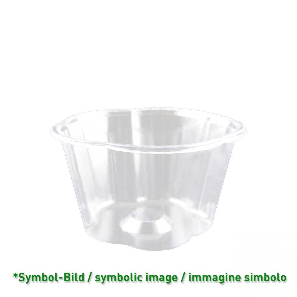 Flower Cup 350 - biodegradable Ice cream cup PLA  / 350ccm / 800 pieces