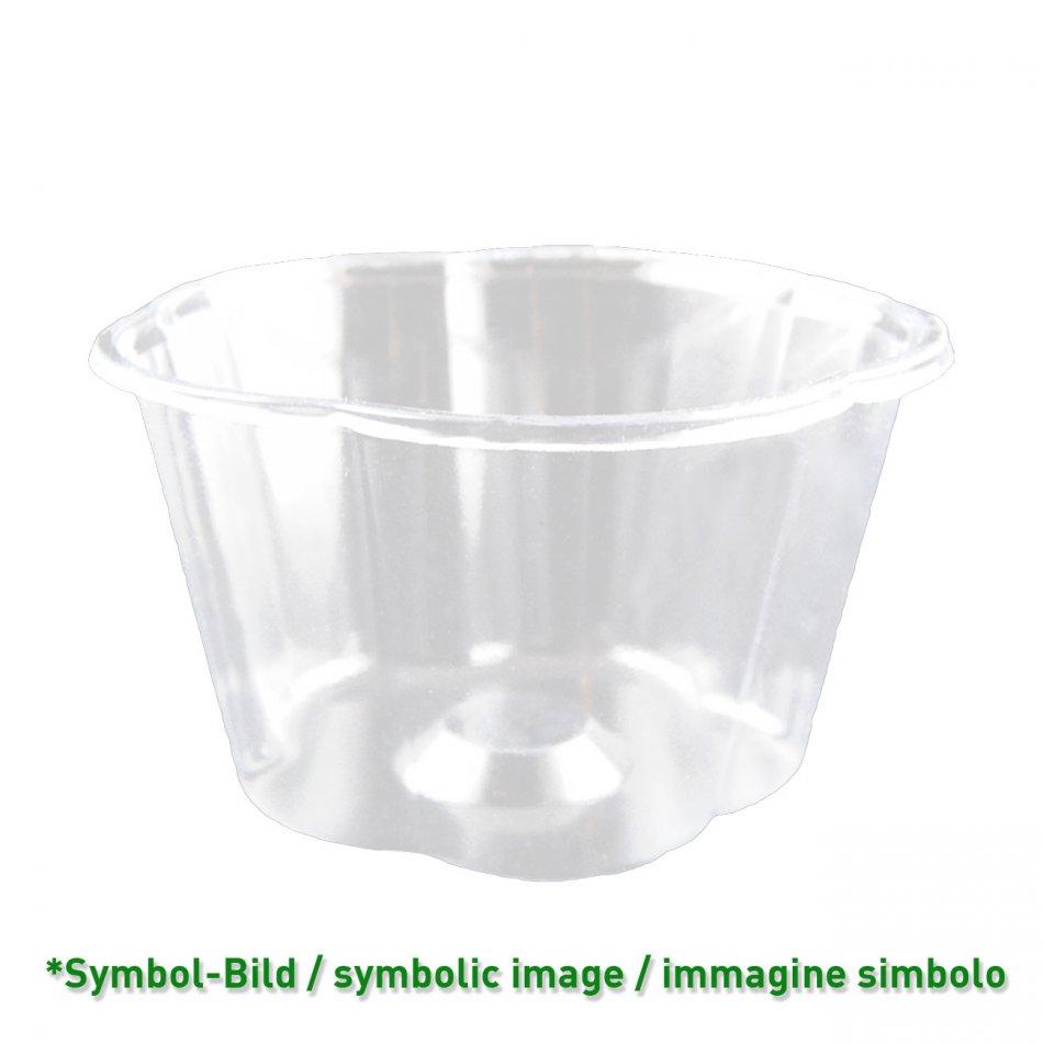 flower cup 450 / biodegradable Ice cream cup PLA / 450ccm / 800 pieces