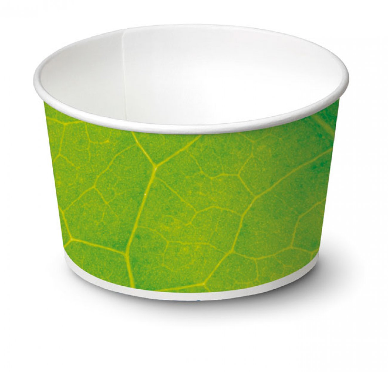 biodegradable Ice cream cup / Typ 80 / 1.932 pieces - Ice cup biodegradable paper