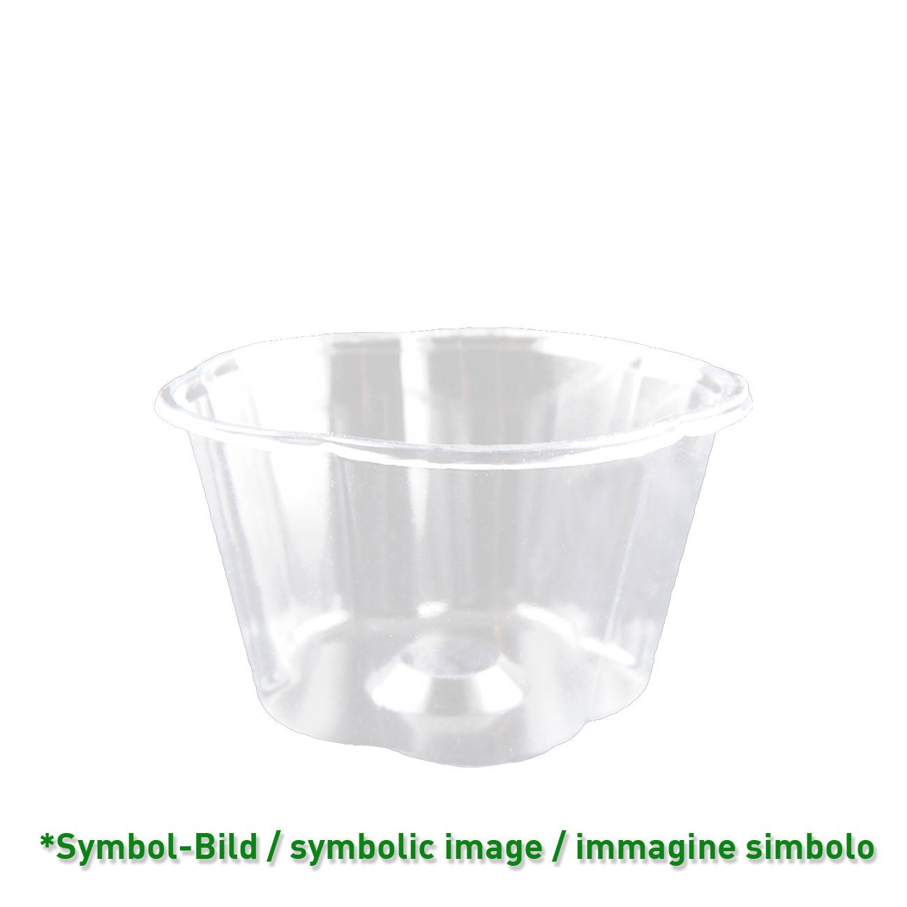 biodegradable Ice cream cup / 100 ccm / 1200 pieces - Ice cup bio PLA
