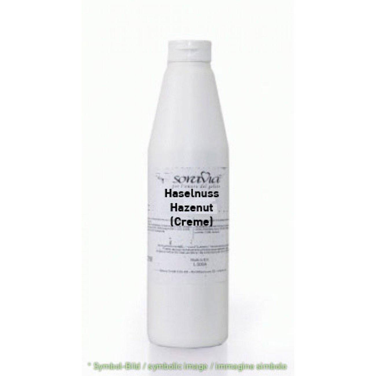 hazelnut creme - bottle 1,00 kg